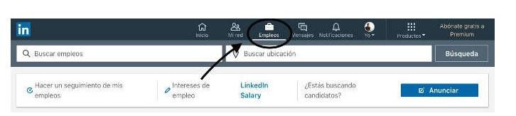 Buscador de empleo de LinkedIn